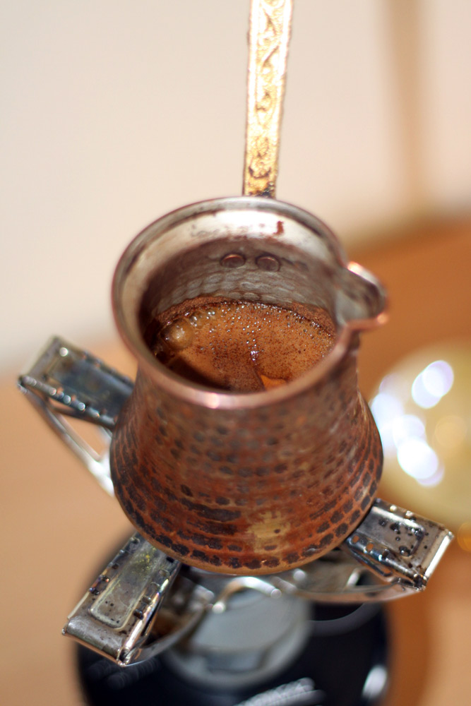 Recette le caf grec ou turc cuisine grecque for Cuisine grecque