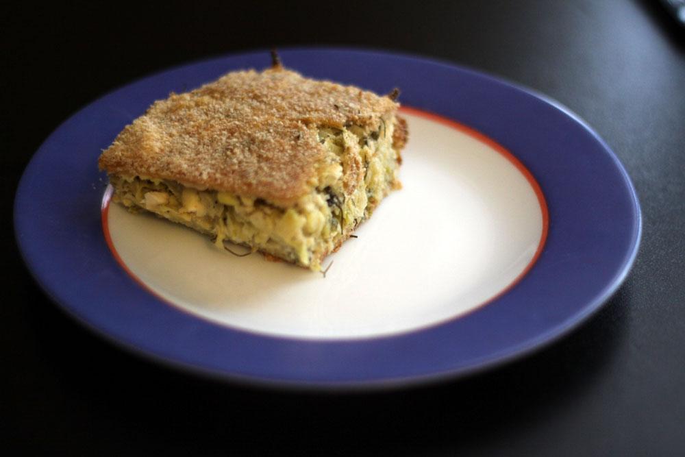 Recette tarte aux courgettes cuisine grecque for Cuisine grecque