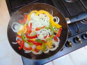 recette aubergine imam bayildi cuisson poivron oignon