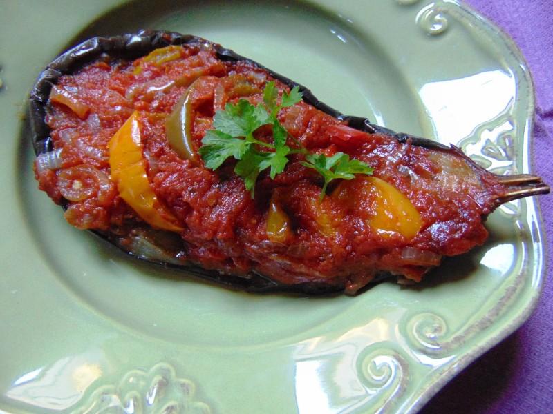 Imam bayildi recette aubergine cuisine grecque for Aubergine cuisine