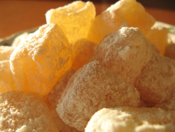 loukoums au citron