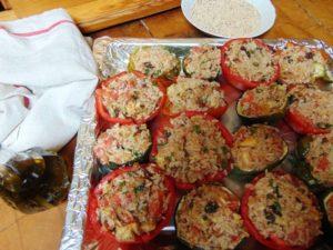 tomate farcie poivron farci aubergine farcie_12